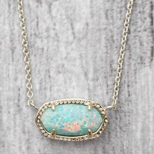 Kendra Scott Jewelry - Kendra Scott Elisa Necklace Aqua Kyocera Opal